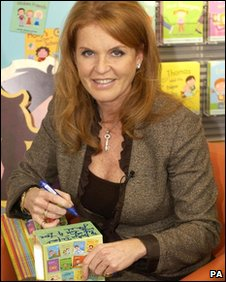 The Duchess of York launches a collectino of children's books
