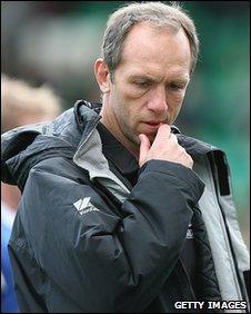 Saracens director of rugby Brendan Venter