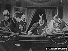 King Edward VII in Dartmouth in 1902