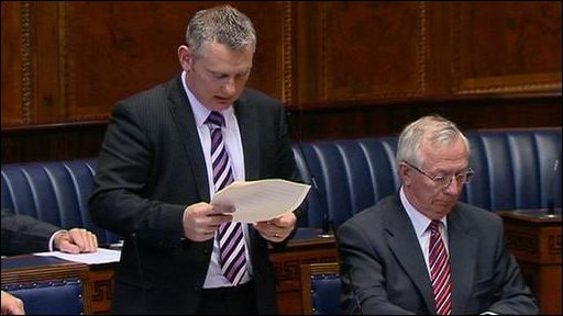 Ulster Unionist MLA John McCallister brought the second stage of the Caravans Bill to the assembly on 24 May 2010.