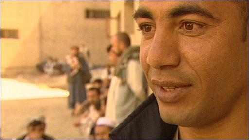 Sayed Haroon, an inmate at Pul-e-Charkhi