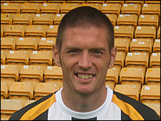 Port Vale defender Gareth Owen