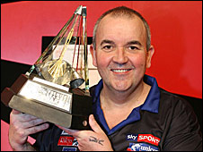 Premier League champion Phil Taylor