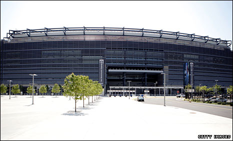 The New Meadowlands Stadium, venue for the 2014 Super Bowl