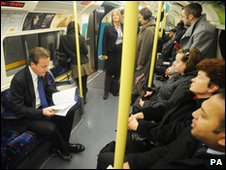 David Cameron on public transport