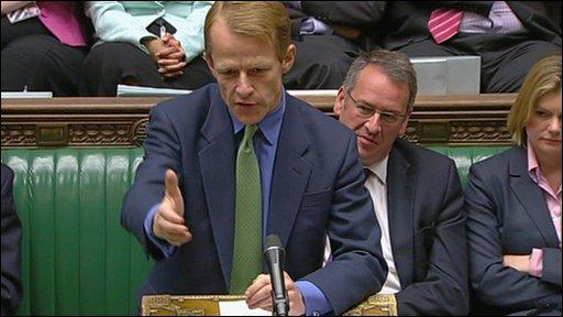 Treasury Secretary David Laws