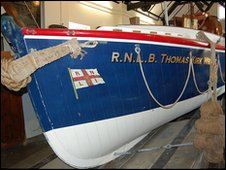 The Thomas Kirk Wright at the Old Lifeboat Station in Poole