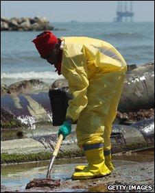 Gulf coast clean up