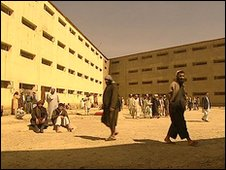 Pul-e-Charkhi prison recreation ground