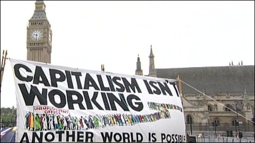 Westminster protest