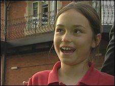 India Arikan aged 10