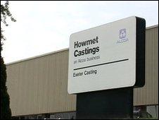 Alcoa Howmet, Exeter