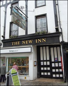 New Inn Gloucester Haunted ?