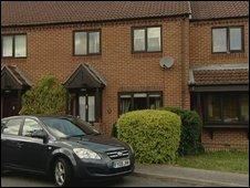 Lincolnshire gun incident house