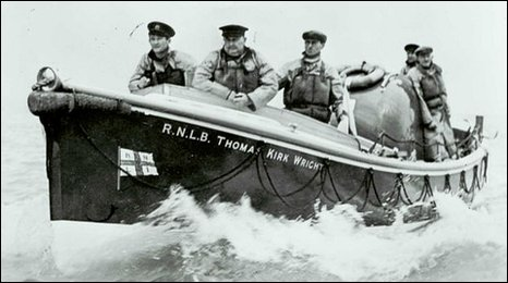 The Thomas Kirk Wright in service. Courtesy of the RNLI.