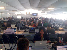 Eurovision press centre