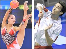 Melitina Staniouta and Nathan Robertson