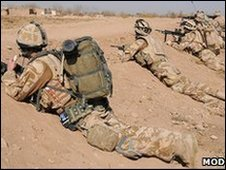 Royal Marines in Helmand province (MoD copyright)