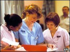 Nurses. Pic:John Cole/SPL
