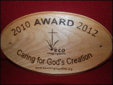 The Eco-Congregation Award