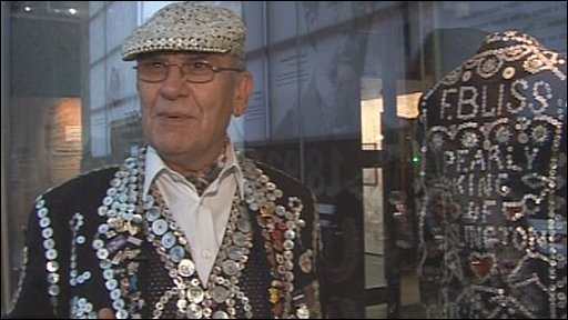 Pearly King of Finsbury John Walters