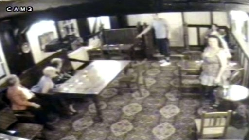 CCTV footage of The New Inn