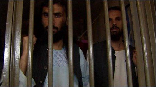 Prisoners in Kabul's Pul-e-Charkhi prison