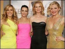 Sarah Jessica Parker, Kristin Davis, Cynthia Nixon and Kim Cattrall step out for the Sex and the City 2 premiere in New York