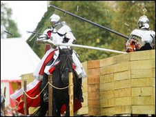 Jousting at Hampton Court Palace