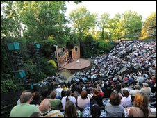 Regent's Park Open Air Theatre (photo: Alastair Muir)