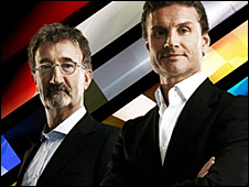 Eddie Jordan and David Coulthard