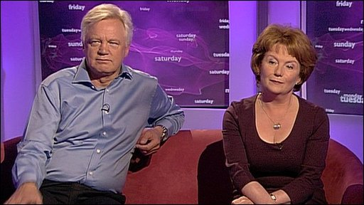 David Davis and Hazel Blears