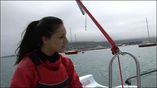 Seema goes sailing!