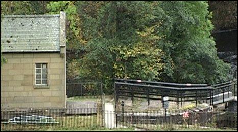 Llangollen Canal pumphouse