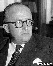 File photo (1952) of Walter Hallstein
