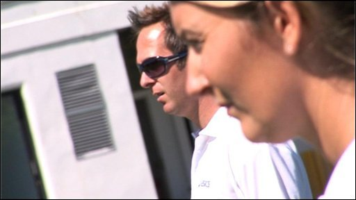 Michael Vaughan and Charlotte Edwards