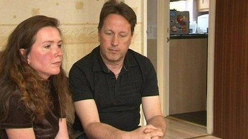 Rachel and Chris Spencer's baby, Rose, was stillborn