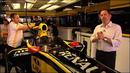 Martin Brundle explains parc ferme