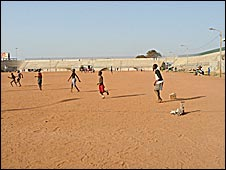 Lack of footballing resources