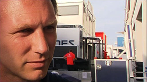 Red Bull&amp;apos;s Christian Horner