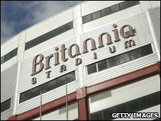 Stoke City's Britannia Stadium