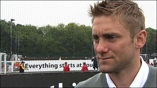 England goalkeeper Robert Green