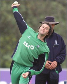 Kyle McCallan scored 3,616 runs and took 256 wickets for Ireland