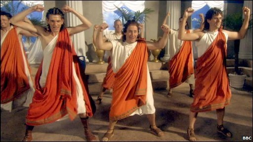Toga Dance from Horrible Histories