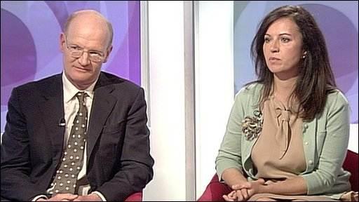 David Willetts and Caroline Flint