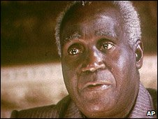 File photo (1983) of Kenneth Kaunda