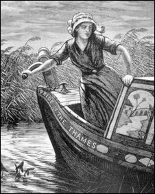 An image from H. R. Robertson's 1875 book Life on the upper Thames