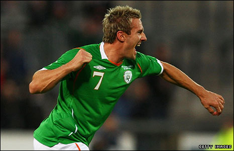Liam Lawrence is a Republic of Ireland international