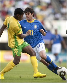 Zimbabwe versus Brazil