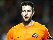 Dundee United defender Mihael Kovacevic